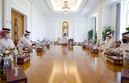 HH The Amir Chairs Third Meeting of Supreme Council for Economic Affairs and Investment