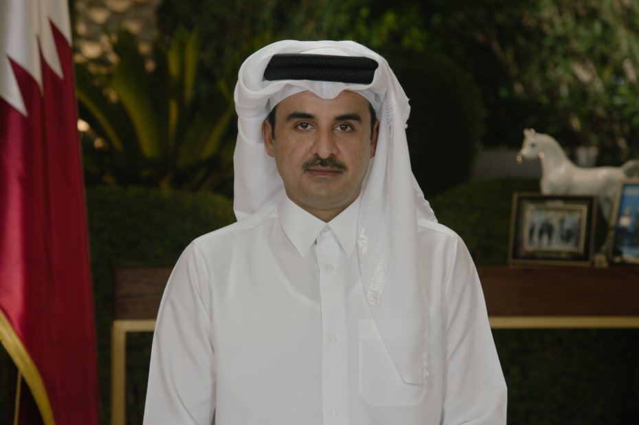 HH the Amir Delivers a Speech on the Occasion of Education City Stadium's Completion