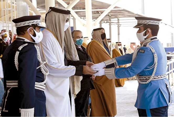 HH the Amir Patronizes Graduation Ceremony of Third Batch of Police College Students